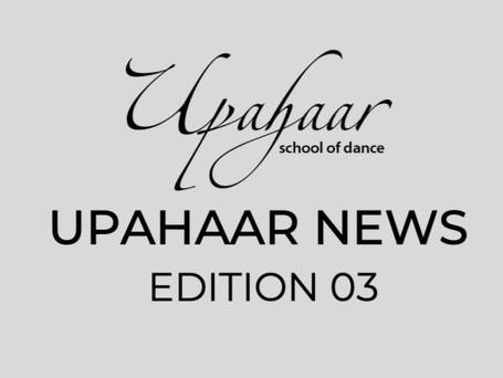 Upahaar NEWS Edition 3 : August 2020
