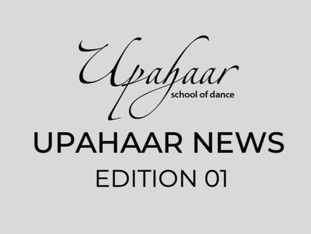 Upahaar NEWS Edition 1 : April 2020