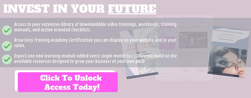 Microblading training cincinnati brow envy academy digital online business growth beauty artists
