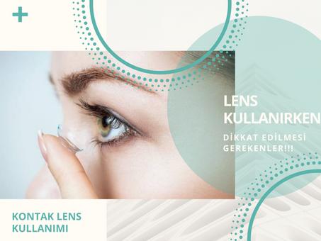 Lens nasıl kullanılır?