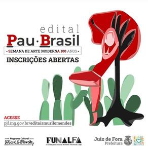 """Edital """"Pau Brasil"""""""