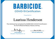 Barbicide certificate.JPEG