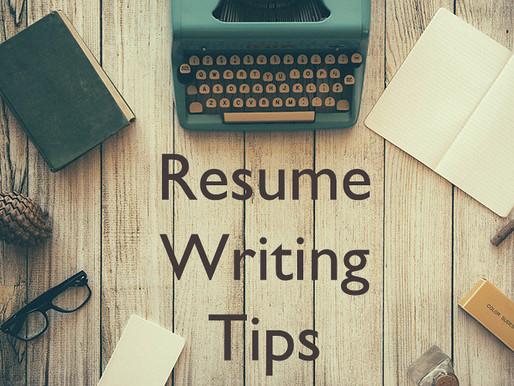 5 Best Resume Writing Tips