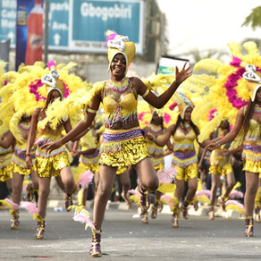 La più grande festa di strada in Africa