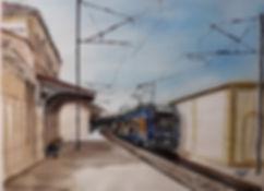 Gare de Six-Fours, La Seyne.
