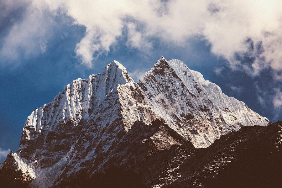 Himalayan trek in Pokhara Nepal . Discover High altitude peaks
