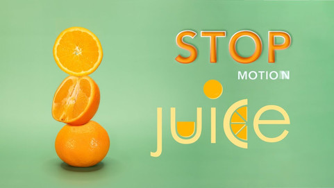 Stop Motion Animation with Orange Juice by JR Productions