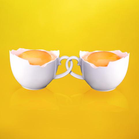 Cups of Eggs by JR Productions Julia Rettenmaier
