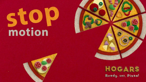 Stop Motion Animation of a pizza by JR Productions