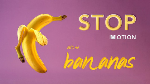 Stop Motion Animation with Bananas by JR Productions Julia Rettenmaier
