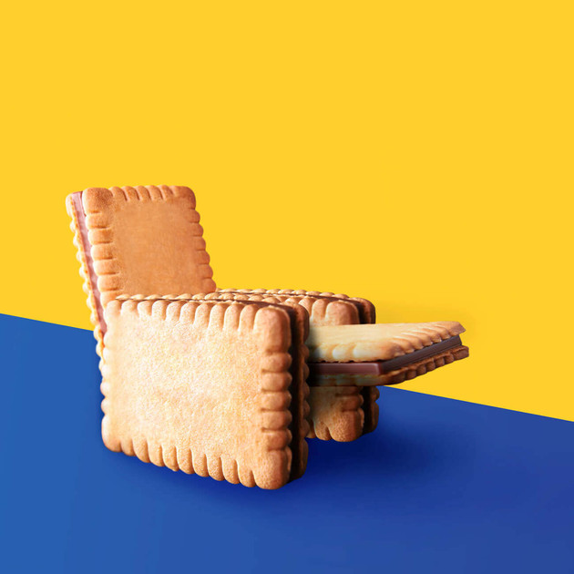 Cookie Chair by JR Productions Julia Rettenmaier