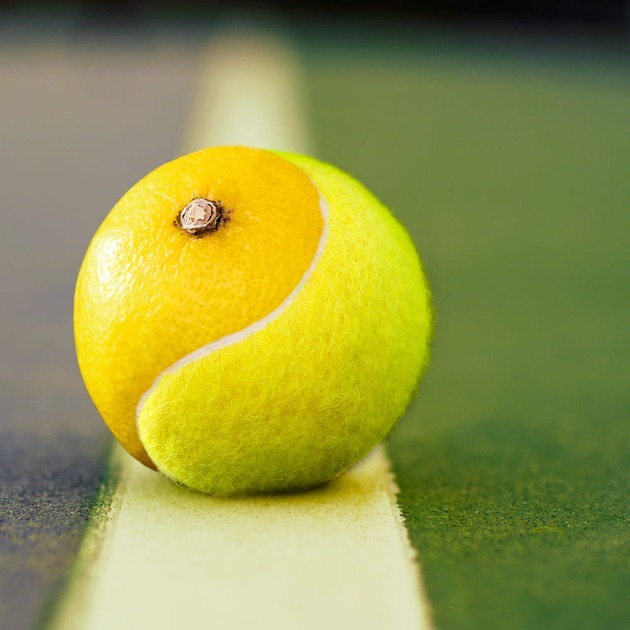 Tennisball Lemon by JR Productions Julia Rettenmaier