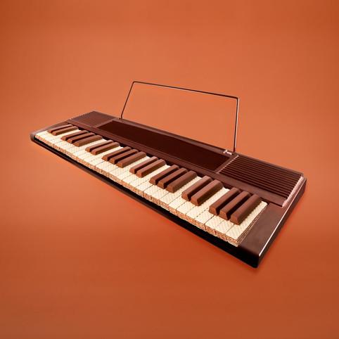 Waffel Piano by JR Productions Julia Rettenmaier