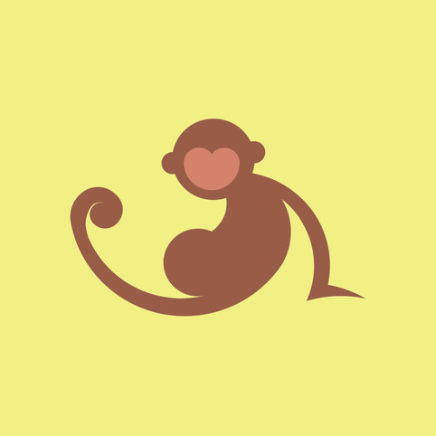 Monkey Icon by JR Productions