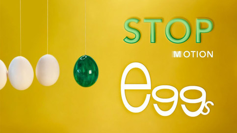 Stop Motion Animation with Easter eggs by JR Productions Julia Rettenmaier