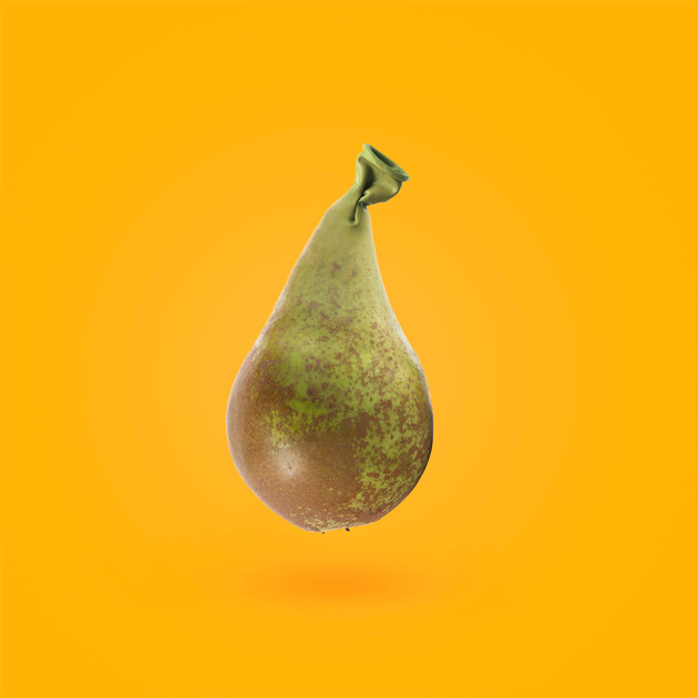 Pear Balloon by JR Productions Julia Rettenmaier