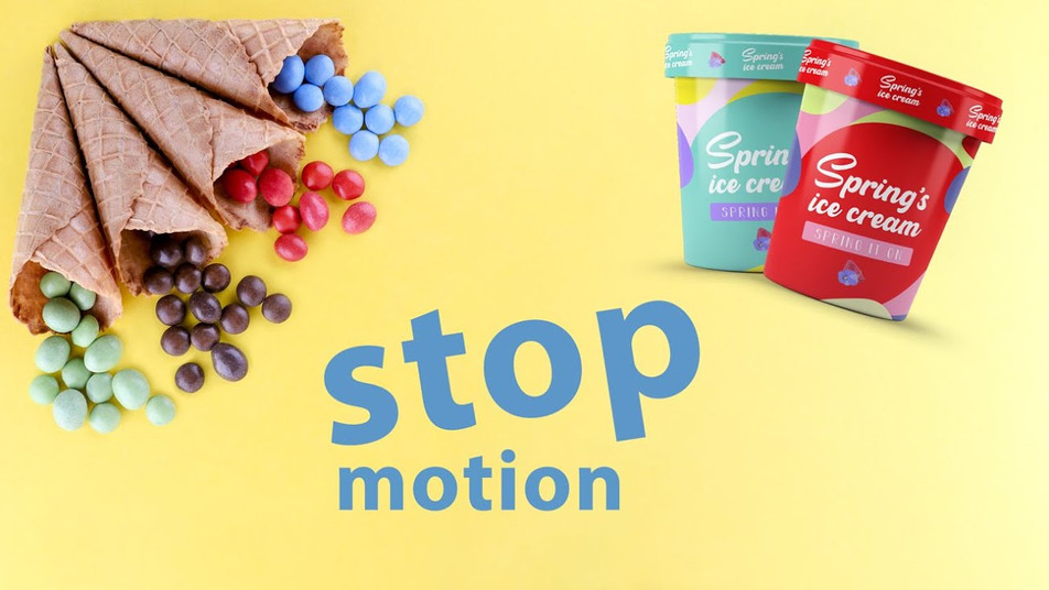 Stop Motion Animation of Ice Cream by JR Productions