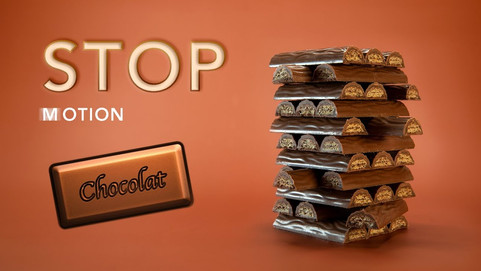 Stop Motion Animation with chocolate bars by JR Productions Julia Rettenmaier