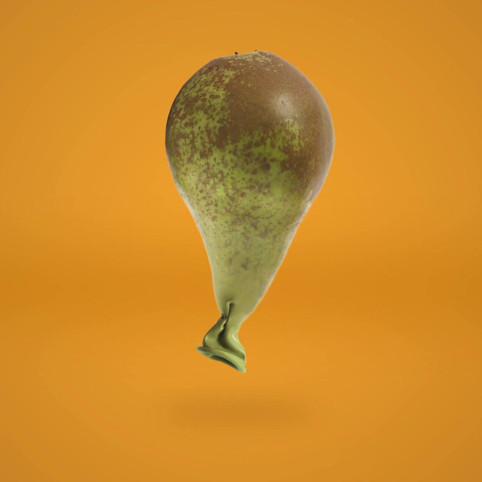 Birnen Luftballon Stop Motion Animation von JR Productions