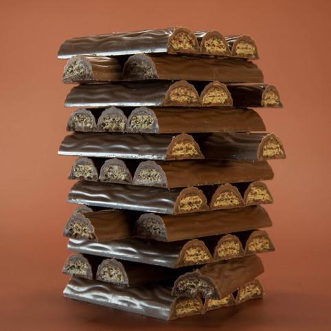 Schokoladen Jenga Stop Motion Animation von JR Productions