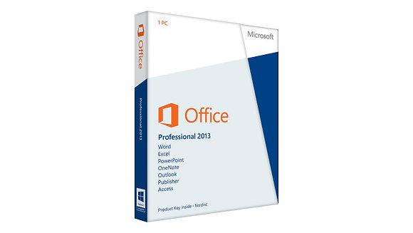Microsoft Office 2013 Professional English