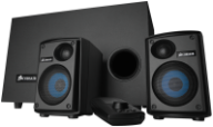 High-power 2.1 PC Speaker System