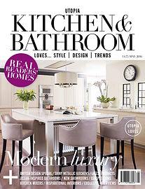 Magazine cover shot
