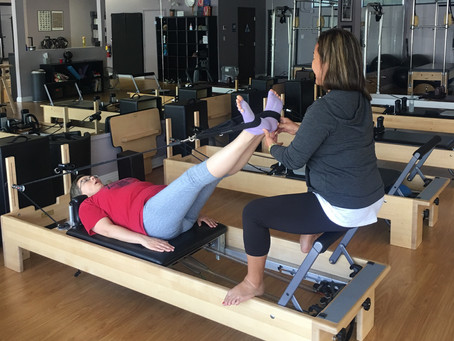 Don't wait until you're out of pain to start Pilates.