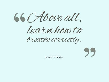 The Pilates Principle of Breath and Covid-19