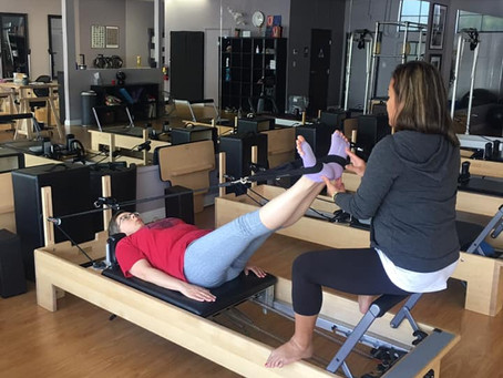 It's OK to feel awkward for your first few Pilates sessions!