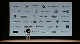 THE HUSTLERS GUILD HIGHLIGHTED IN APPLE CEO'S ANNOUNCEMENT