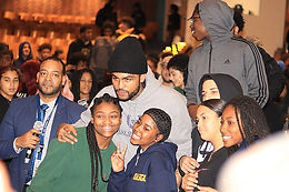 Rapper Dave East goes back to Harlem for the youth