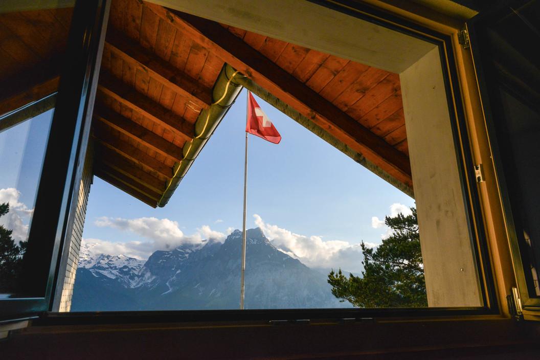 Blick auf die Urner Alpen
