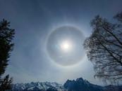 Winter Sonne auf Eggberge