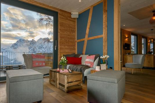 Lounge im Seminarraum