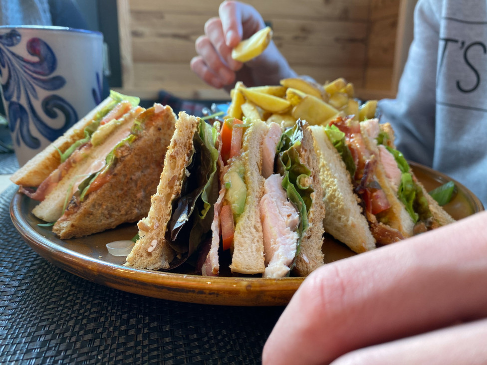 Eggberge Club Sandwich