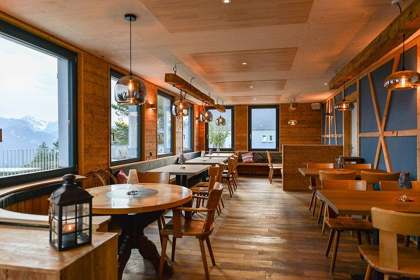 Berggasthaus Eggberge Restaurant mit Panorama Aussicht