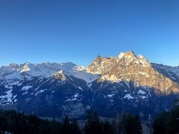 Berggasthhaus Eggberge Aussicht Uri Alpen