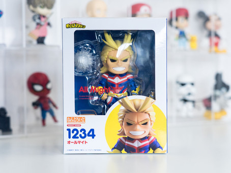 Nendoroid 1234 All Might - Unboxing and Review