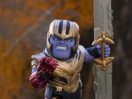 Unboxing and Review - Nendoroid 1247 Thanos from Avengers: Endgame
