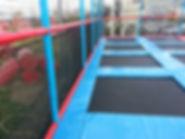 trampoline outdoor exterieur
