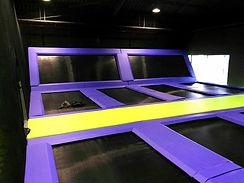 dodgeball trampoline coudouplay
