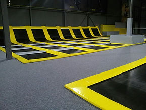 trampoline maincourt indoor coudouplay