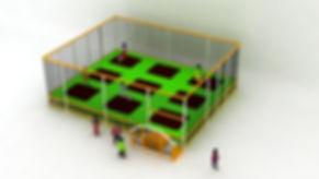 trampoline enfant outdoor