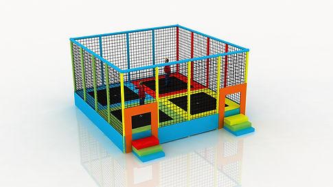 trampoline outdoor enfant coudouplay