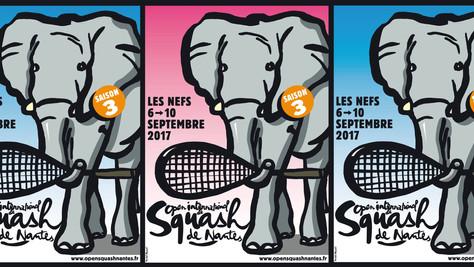 B -Gourmet à l'Open International de Squash de Nantes le 9 septembre au soir