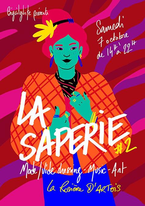 La Saperie #2 Art & Zik Samedi 7 Octobre, be ready !