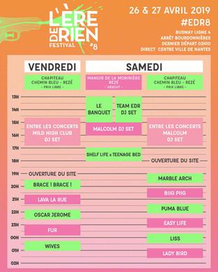 B-GOURMET SERA AU FESTIVAL L'ERE DE RIEN SAMEDI 27 AVRIL