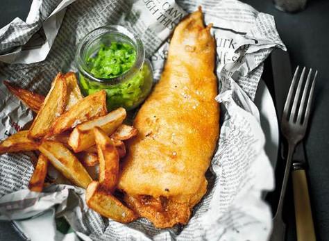 BREXIT : notre nouveau Burger SO british, inspiré du fish and chips!