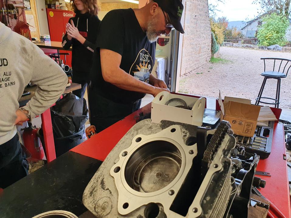 stage moteur 600 xtz comme neuf #atelier